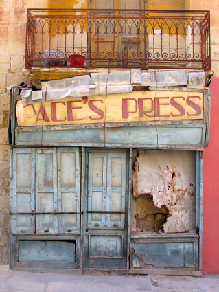 The End of Print, Sliema, Malta