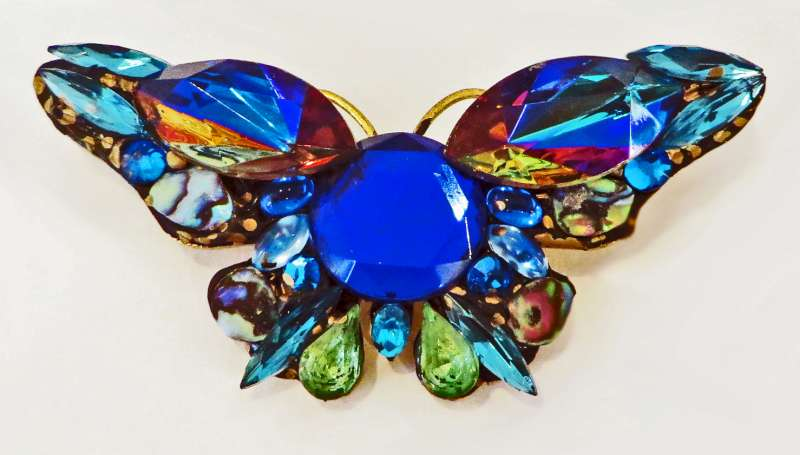 Big Butterfly Brooch