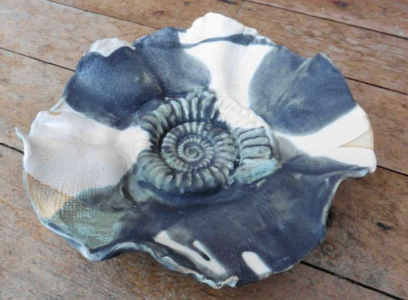 Medium Ammonite Bowl II