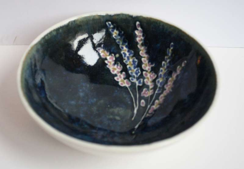Small Lavender Bowl