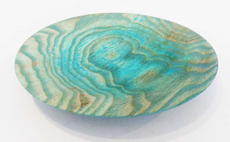 Blue Fabre Bowl