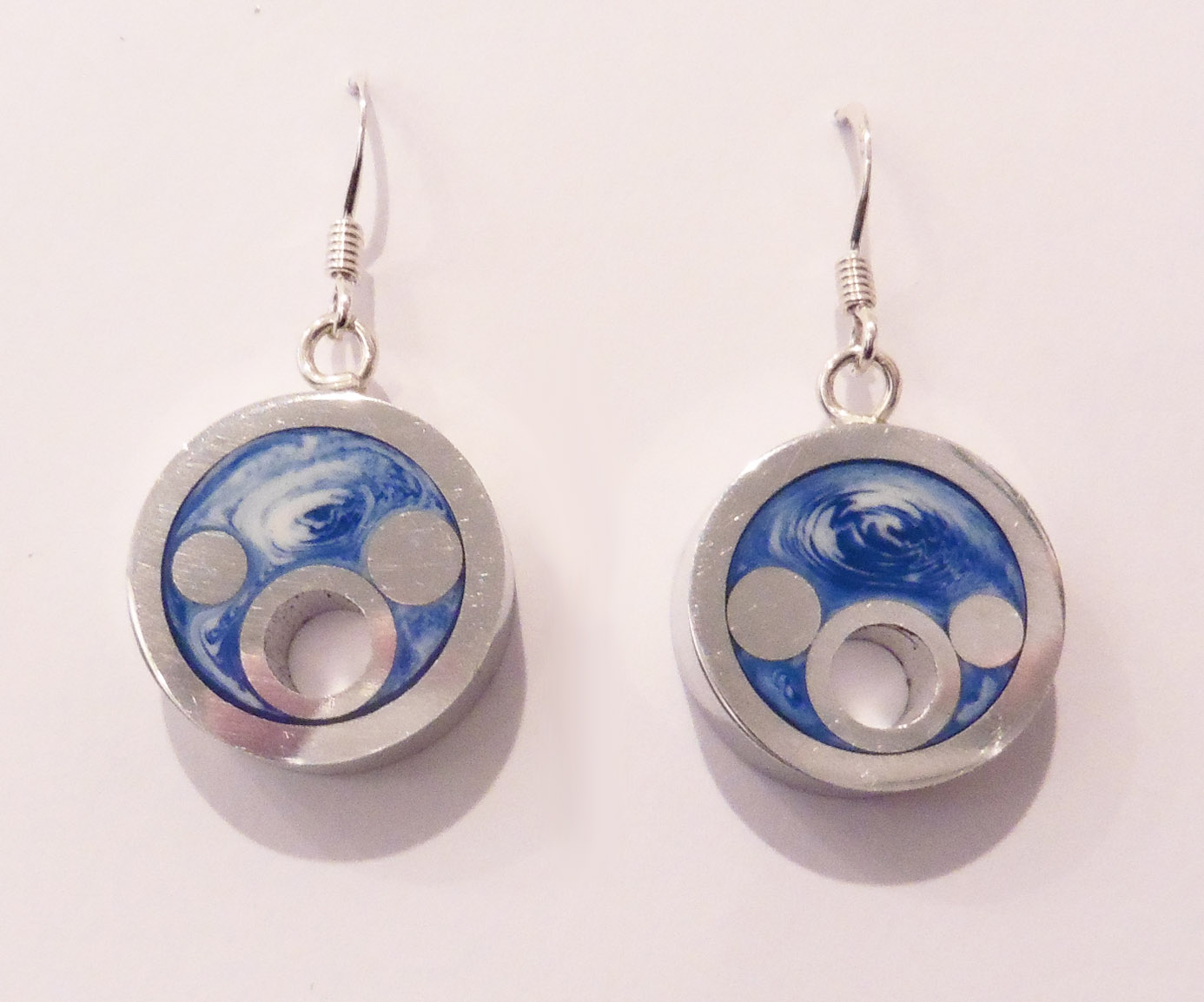 Round seaside earrings