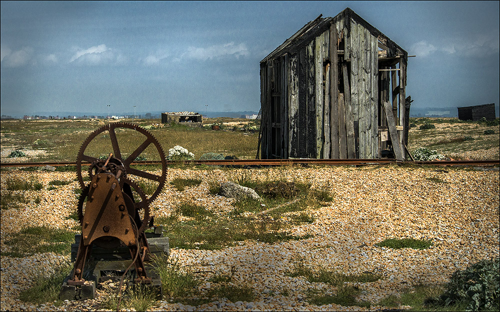 Hut and Winch, Dungeness 2016