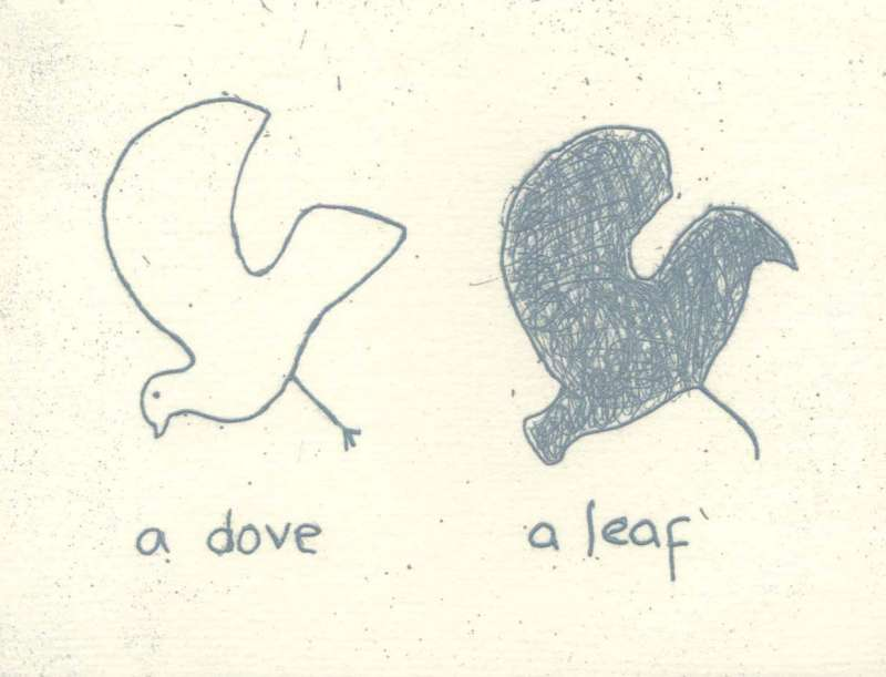 Dove and Leaf 13/60